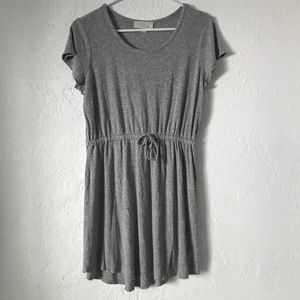 Olive & Oak Gray Dress with string tie